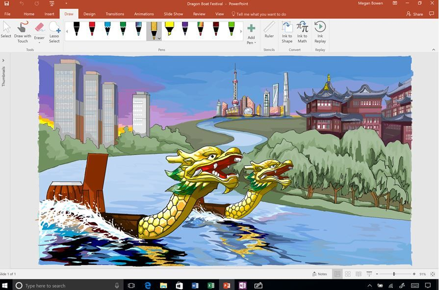 Microsoft introduces new ink effects and surface pen along with new Whiteboard app.JPG